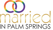 Married In Palm Springs Logo